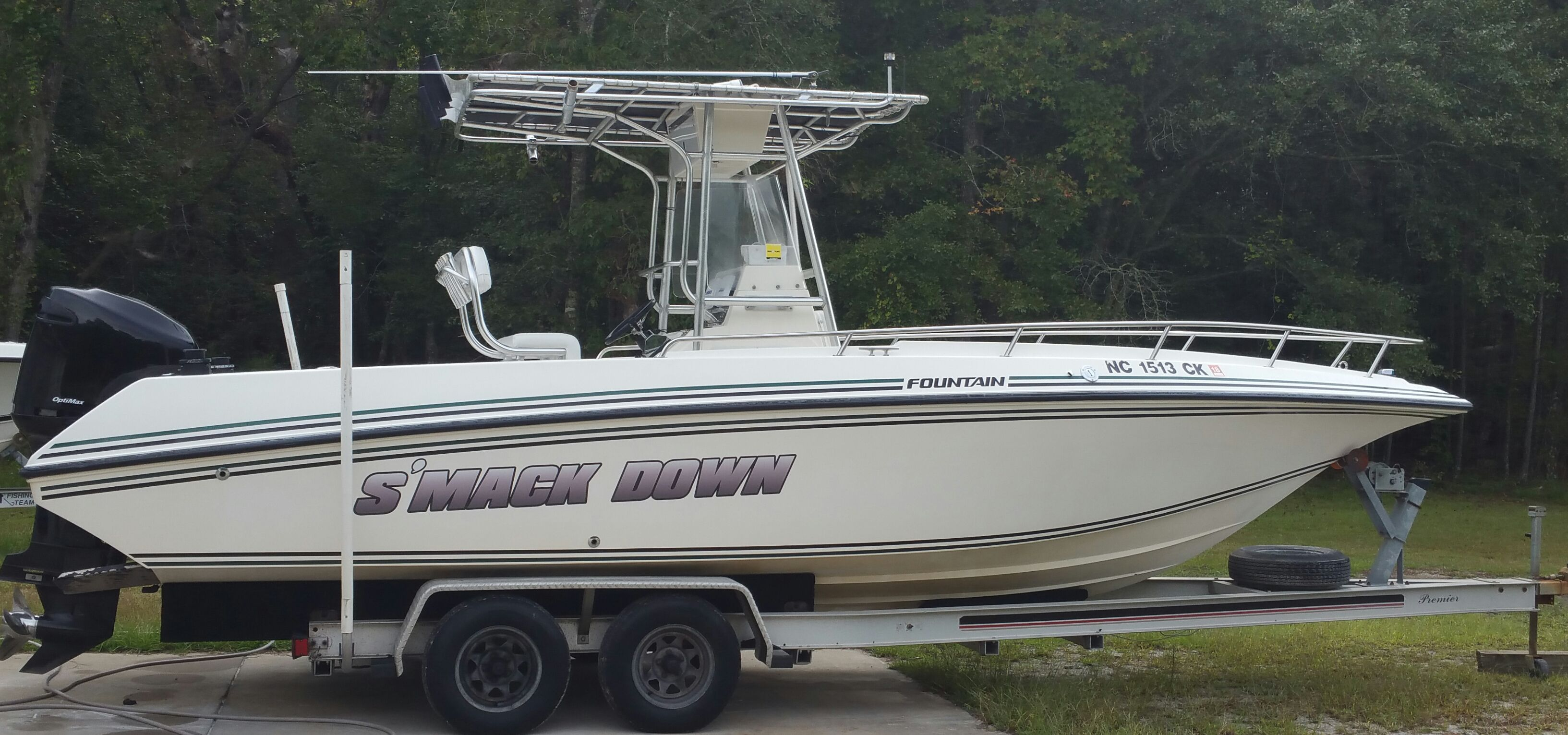 Used 1996 Fountain 25 Center Console New Bern Nc 28560 Boattrader Com Center Console Used Boats Boat