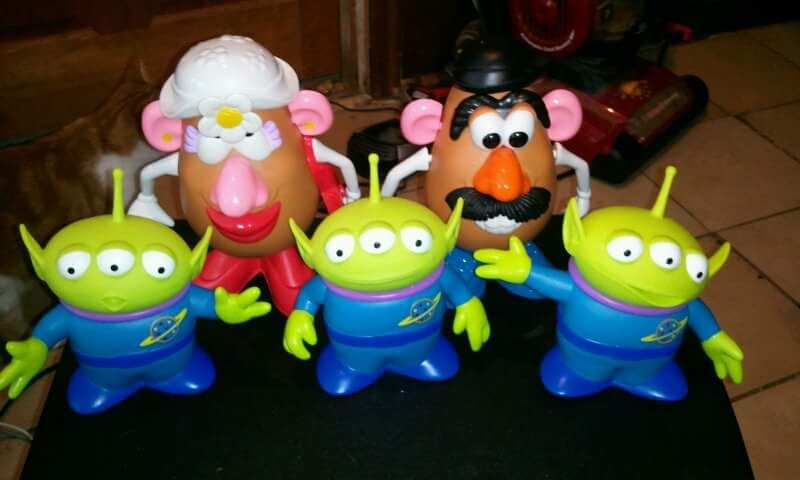 4 Collector This Is A Brief Picture Of My Mr Potato Head Collection In This Exact Picture The Image Includes The Toy Novelty Lamp My Pictures Pizza Planet