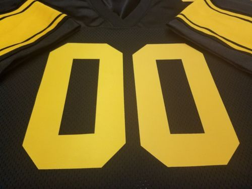 00 Pittsburgh Steelers Football Jersey NameΝmber SEWN ON.4XL5XL