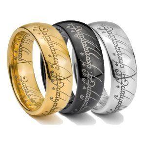 Set Lotr Rings Mens Wedding Rings Wedding Ring Bands Fashion Rings