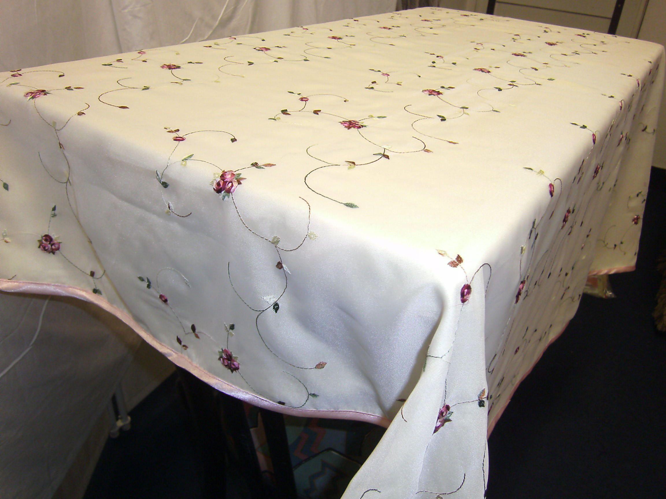Home Tischdecke Gelb Weiss Florale Decke Wohnzimmer Geschenk Fur