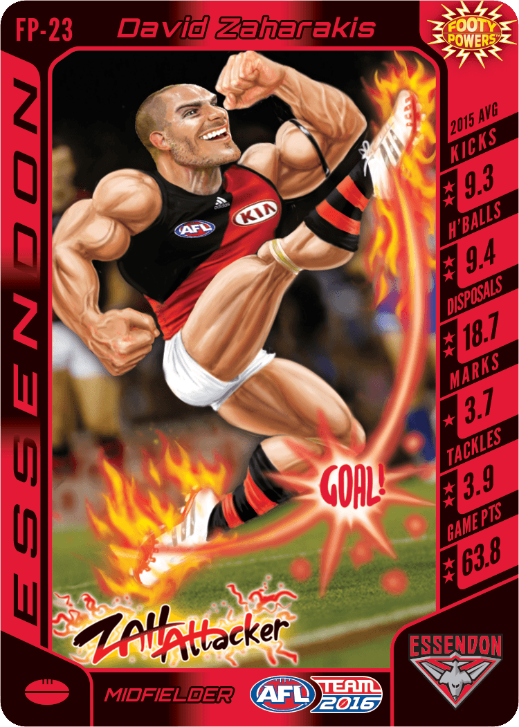 TeamCoach AFL Trading Card games where you are the coach