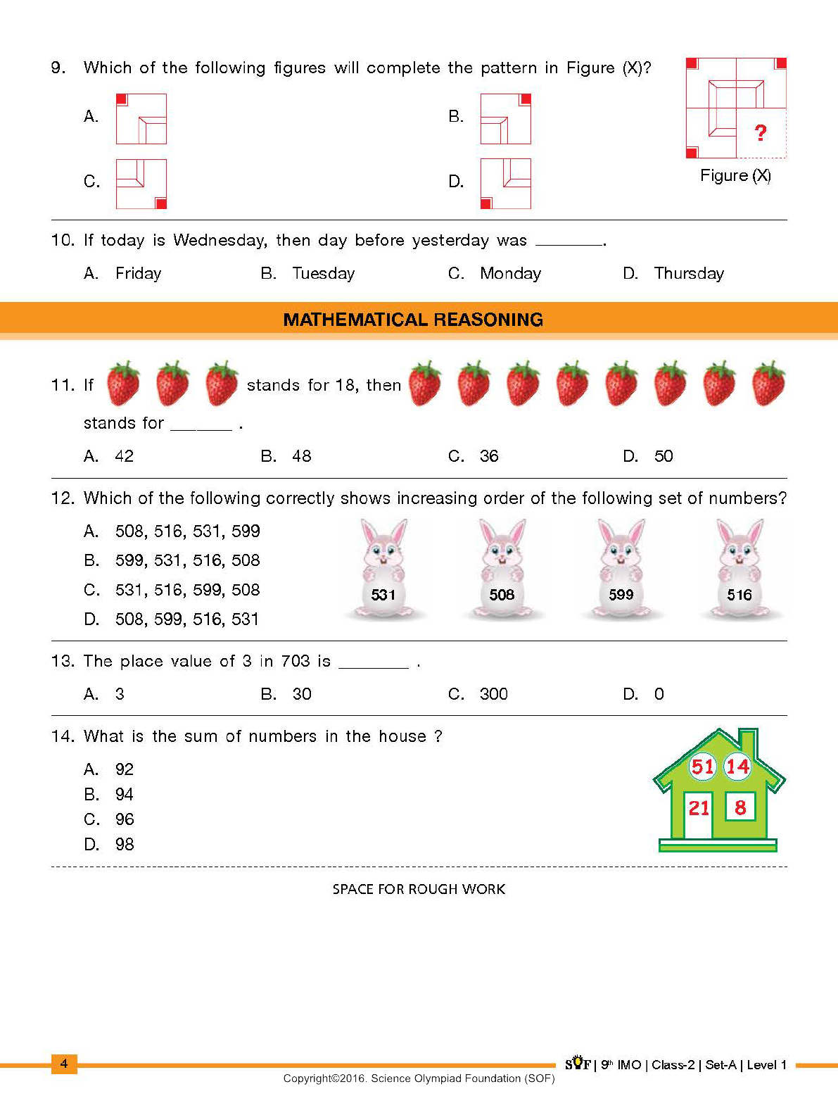 Sample Imo Practice Papers For Grade 2 Free Math Worksheets Mental Maths Worksheets Algebra Equations [ 1584 x 1191 Pixel ]