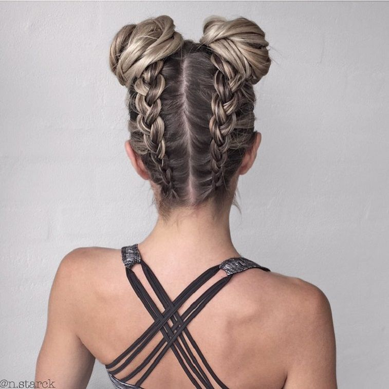 39 Trendy + Messy & Chic Braided Hairstyles – Braids