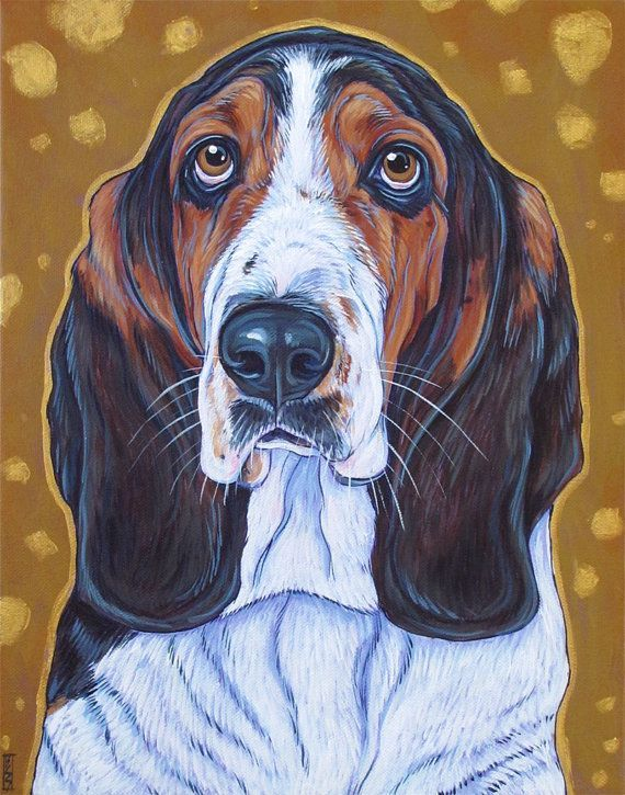 Custom Pet Portrait Painting in Acrylic on 11 x 14 Canvas of One Dog Cat Other Animal Ba Custom Pet Portrait Painting in Acrylic on 11 x 14 Canvas of One Dog Cat Other An...