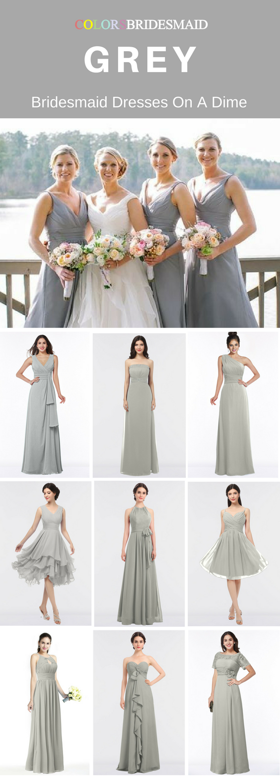 Winter wedding dresses plus size  Our grey bridesmaid dresses are of  styles and sold mostly under