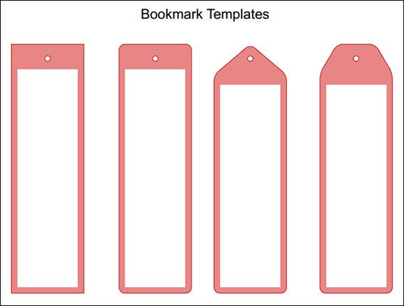 free bookmark template bookmark template how to make. Black Bedroom Furniture Sets. Home Design Ideas