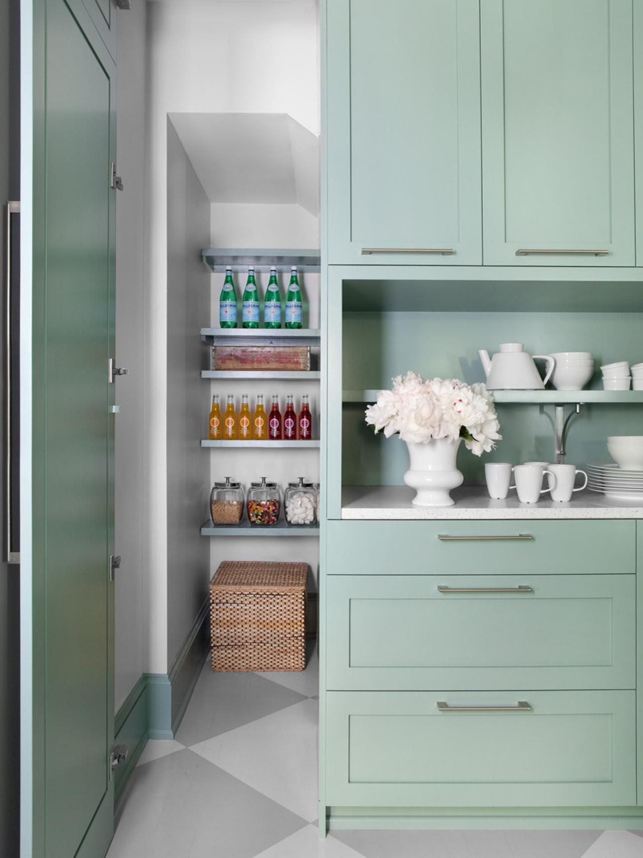 What looks like a door to a simple cabinet opens up to reveal a ...