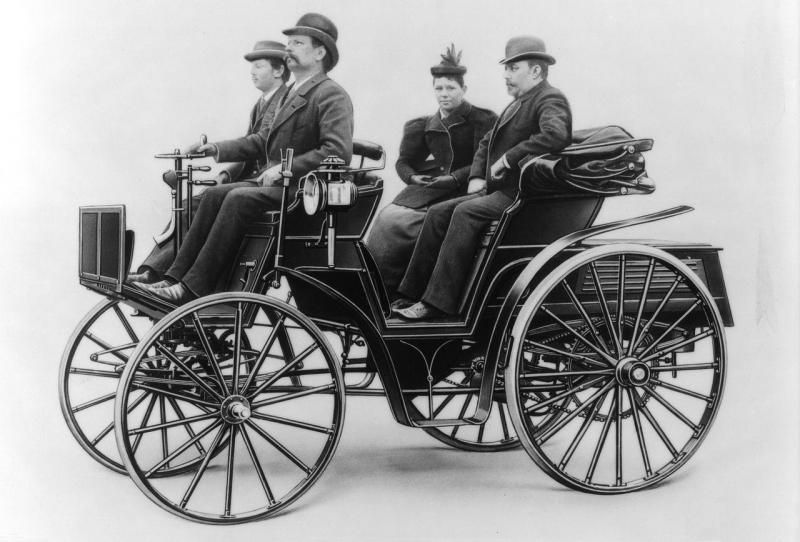 1893-96 Benz Patent-Motorwagen Victoria 5.jpg; 800 x 542 (@100 ...