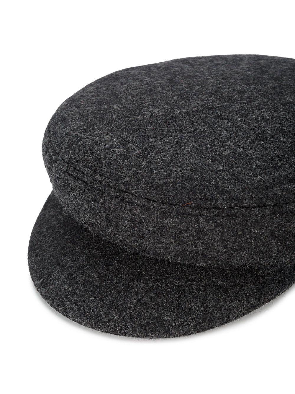 ba9f5679b75 Isabel Marant Evie Wool Baker Boy Hat grey 02ananthracite women Accessories  Hats  w-12175843