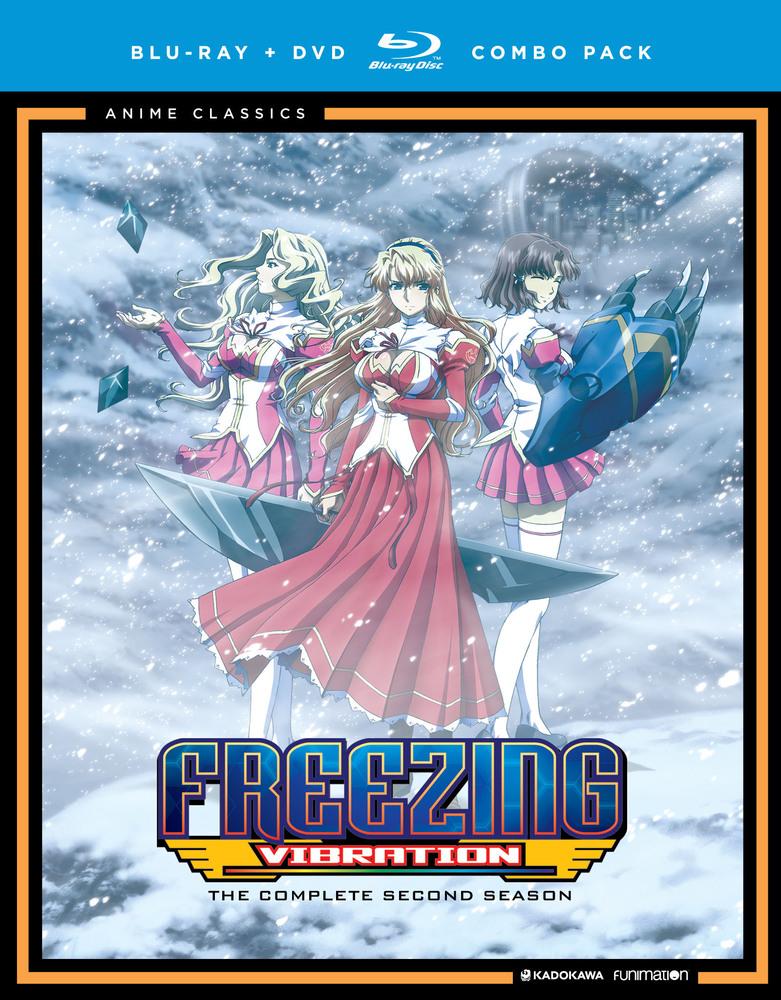 Freezing Vibration Season Two [Bluray] Anime