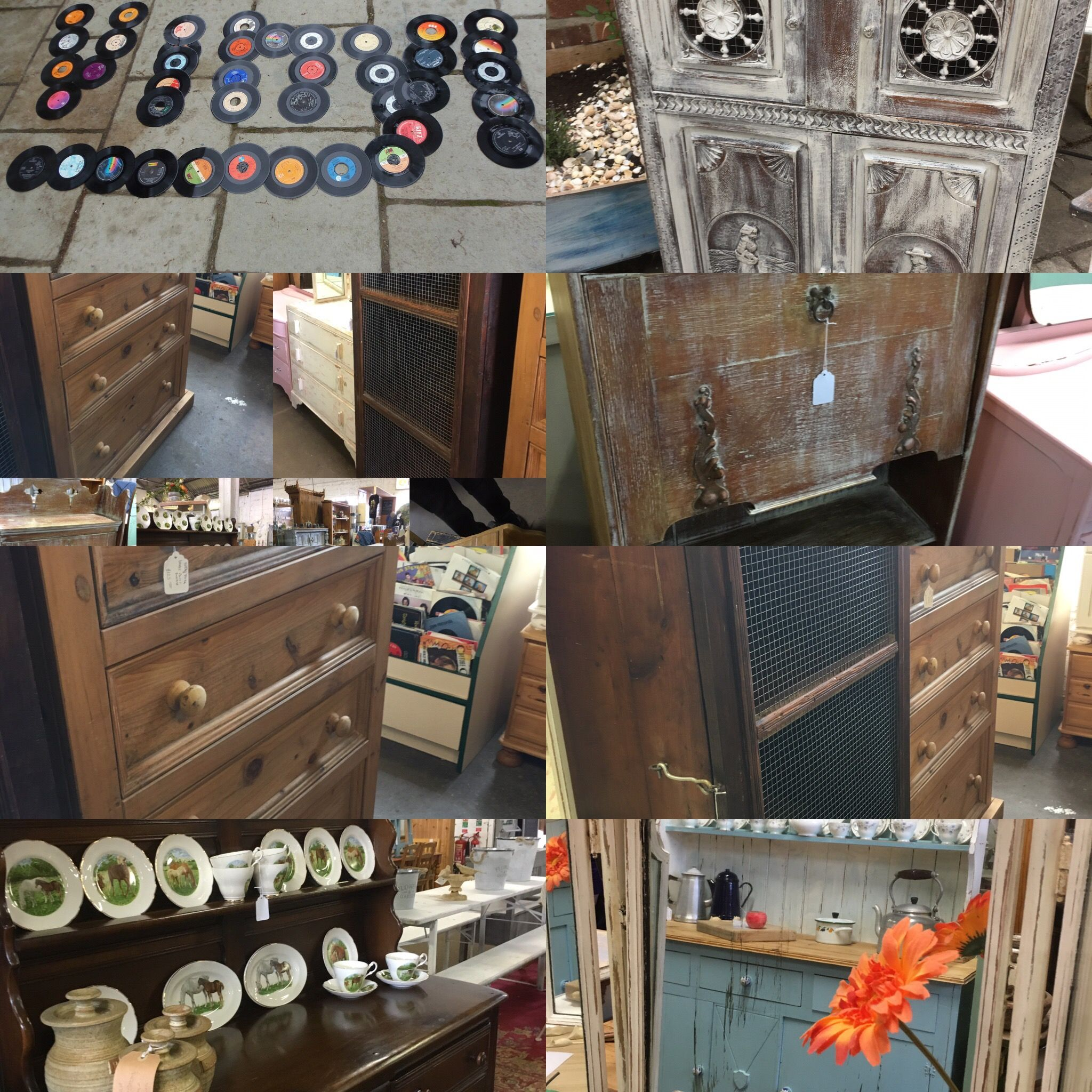 Grandads Curious Attic at Dorchester Curiosity Centre DT1 1ST vintage shop Upcycled/painted/shabby chic /vintage furniture ❤️ vintage Shopping