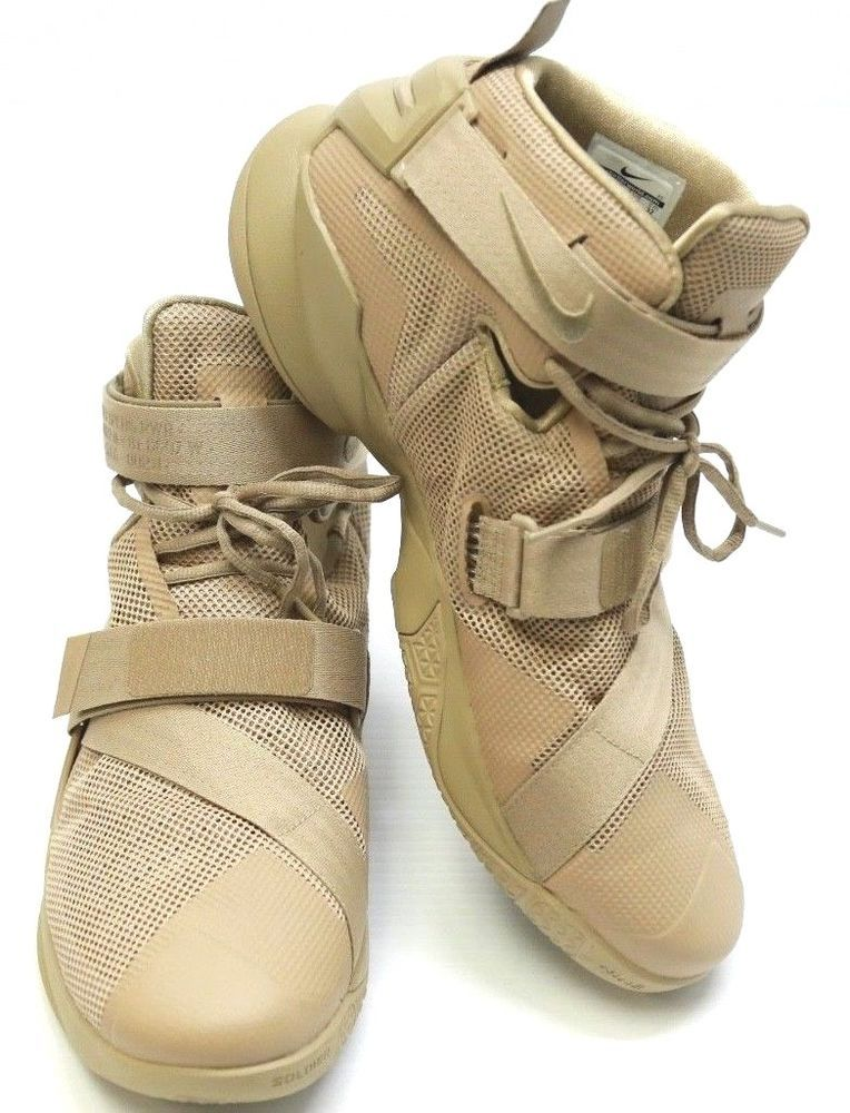 hot sale online 843c5 01e35 Men s Nike Zoom Lebron Soldier IX Premium Desert Tan 749490-222 Size 14   Nike  AthleticSneakers