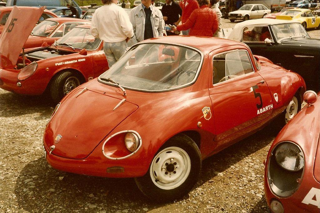 Abarth 750 Coupe 'Goccia' 1957
