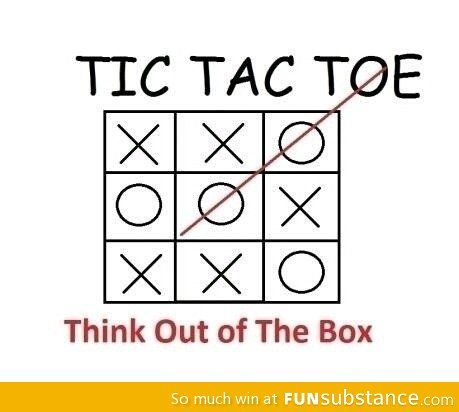 Think Out Of The Box Funsubstance Funny Memes Thinking Outside The Box Thinking Out