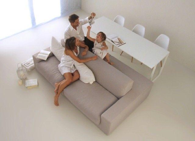 multifunctionele sofa Interieurideetjes via ERA Leus Vastgoed - designer couch modelle komfort