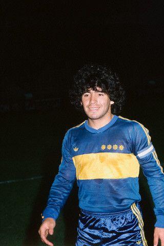 Diego Maradona (Boca Junior) | wonka | Pinterest ...