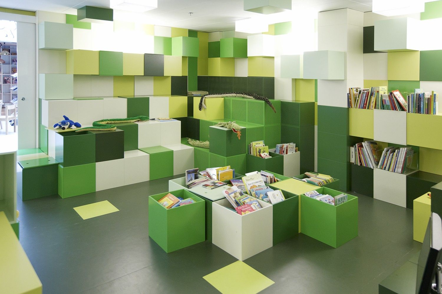 BCI Library Design Blog Archive Modern Childrens Library
