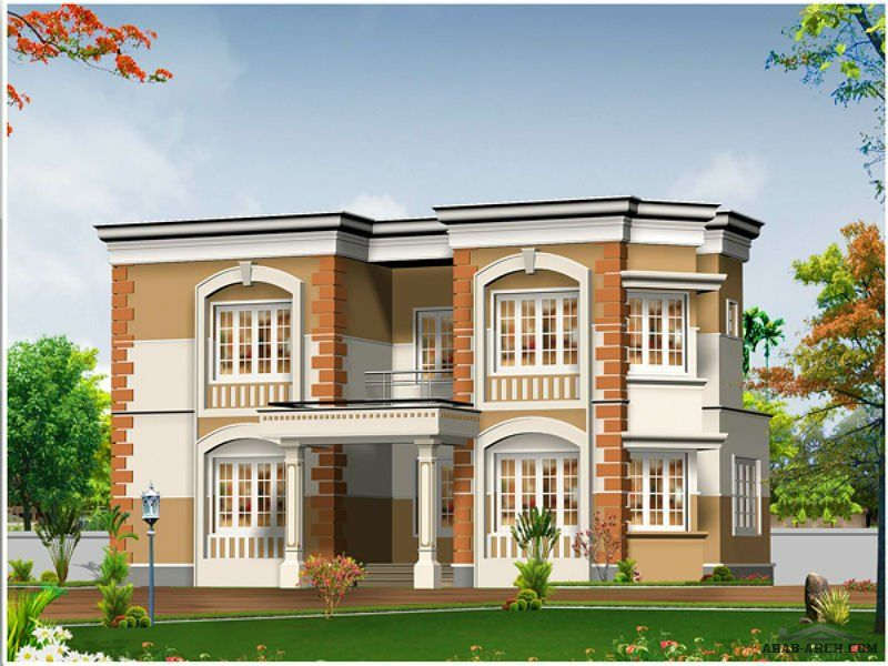 Arab Arch 99 House Elevation Front Big Houses Modern