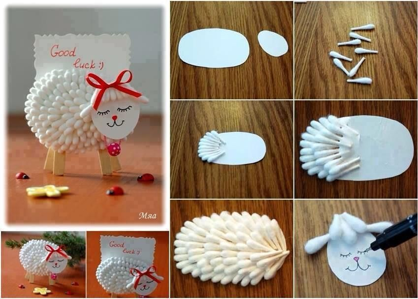 Crazy Craft Ideas For Kids Part - 43: Cute Arts And Craft Idea