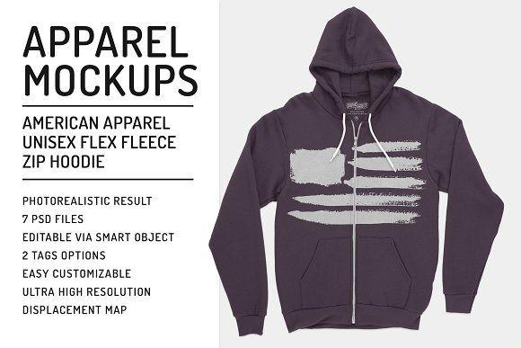 Download Zipup Hoodie Flex Fleece Mockups Clothing Mockup Zip Up Hoodies Mockup Design