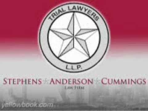 Stephens Anderson Cummings Dallas Fort Worth Texas Dallas Fort Worth Texas Cummings Trial Lawyer