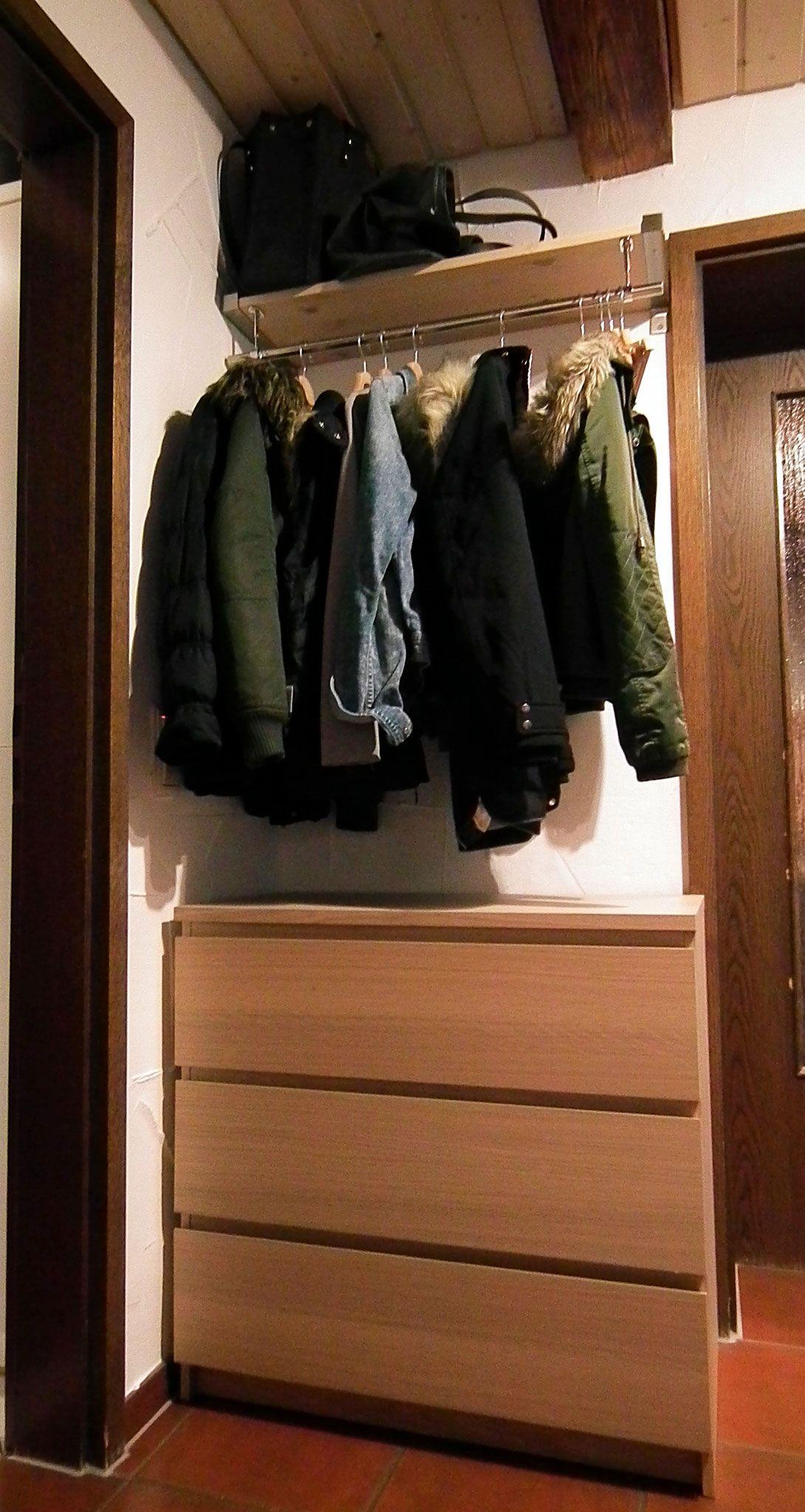 Diese Garderobe kannst du auch mit einem kleinen Geldbeutel ...