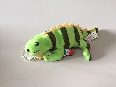 COCA COLA plush IGUANA International Collection MEXICO stuffed collectible toy