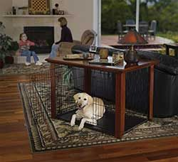 Midwest Heritage Hardwood Furniture Dog Crate Cover 42 Inch Pet Enclosure 420clfhc Diy Dog Crate Dog Crate Cover Dog Crate Table