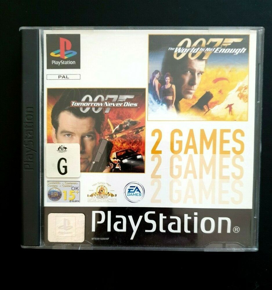 007 Tomorrow Never Dies 007 The World Is Not Enough Ok Game