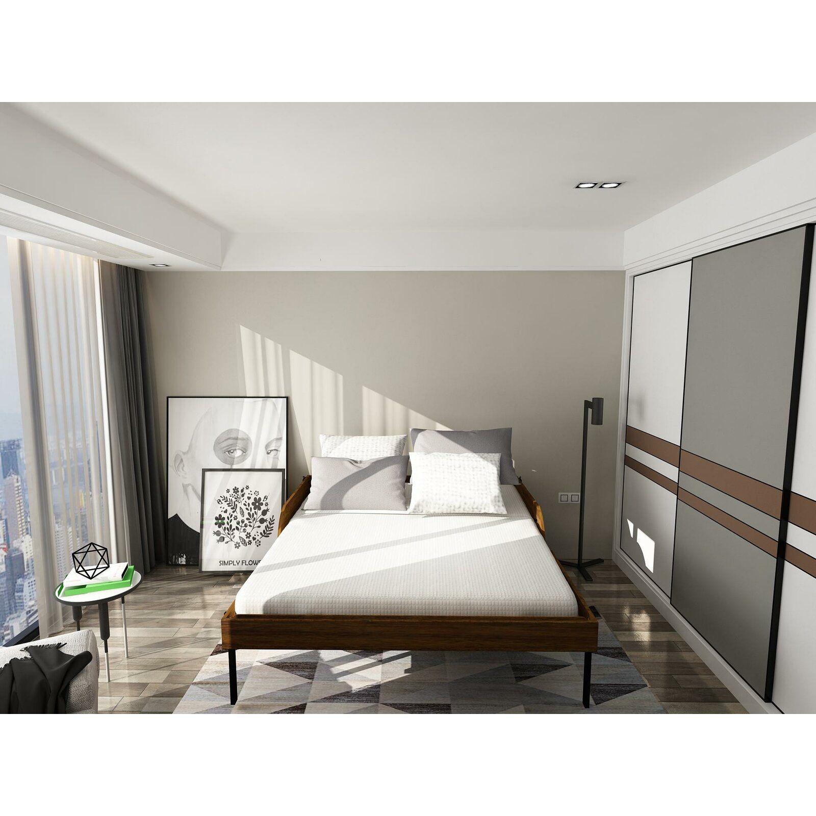 Rolling Queen Murphy Bed with Mattress Murphy bed plans
