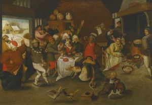 Feast of Epiphany - Pieter Brueghel the Younger - The Athenaeum