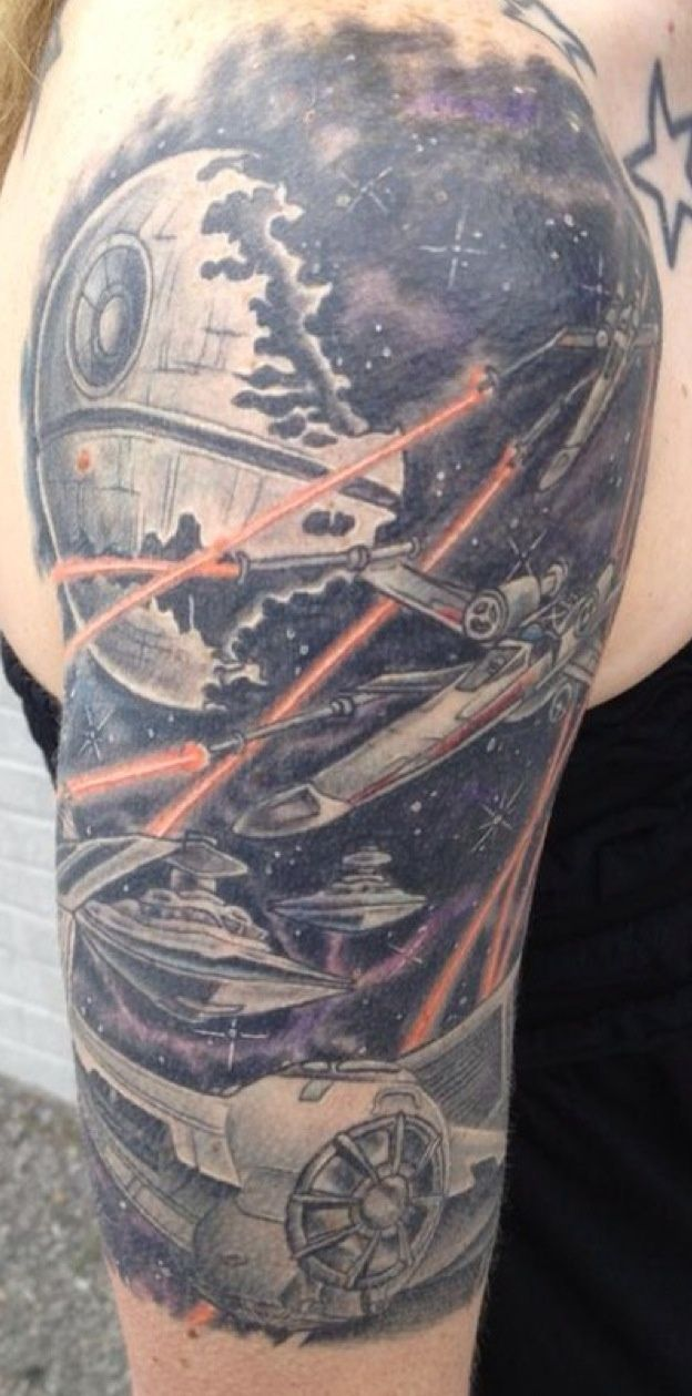 Pin By Davyd On Forever Ink Pinterest Star Wars Tattoo Tattoos