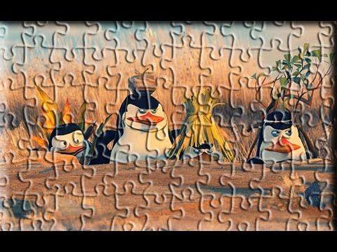 Madagascar Penguins Puzzle Games For Kids YouTube Madagascar