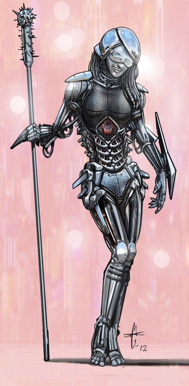 Sexy Robot by David Chambers