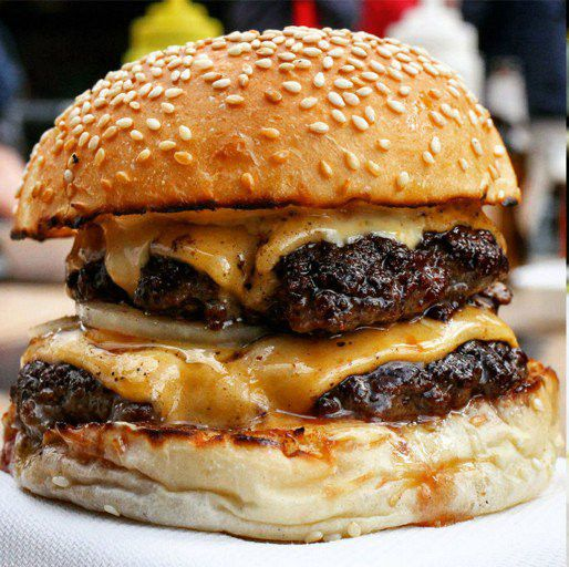 a burger at Bleeker Street, London ~ Esquire Food