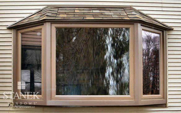 Bay Windows Customer Photo Gallery Stanek Windows Bay Window Exterior Bow Window Bay Window Design