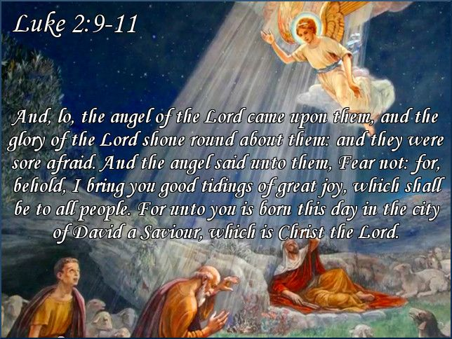 Image result for Luke 2:9