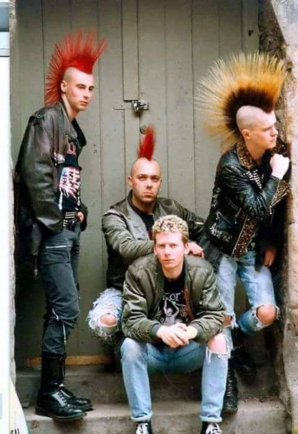 Hot punk guys love the mohawks punk stuff pinterest punk guys