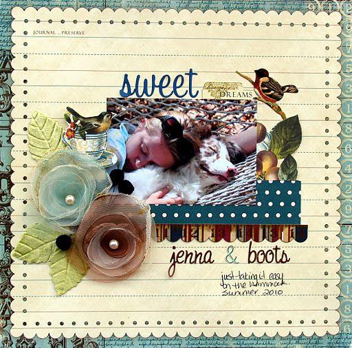 Websters Pages ~Sweet Dreams~ - Scrapbook.com