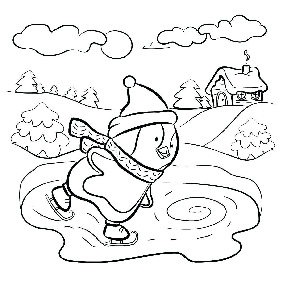 Winter Worksheet For Kindergarten Worksheet Winter Dot To