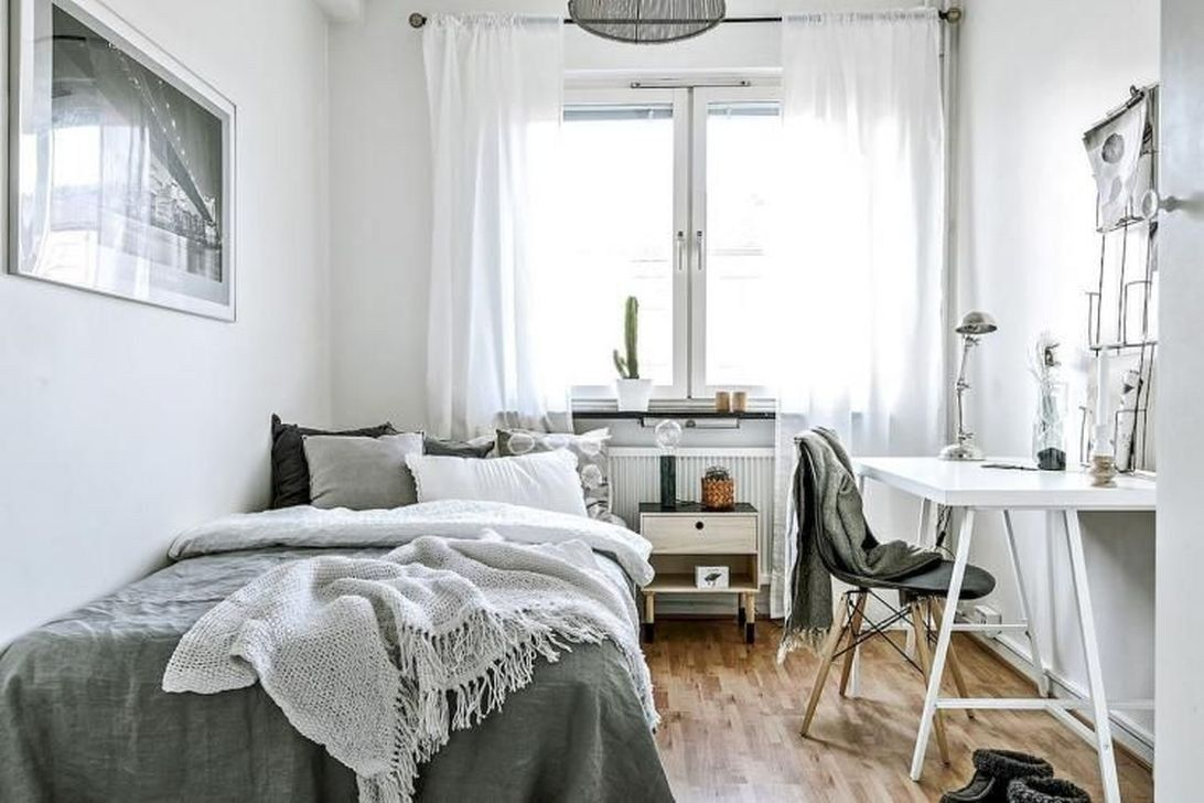 Amazing Apartment Bedroom Ideas On A Budget 14 College Apartment Decor Minimalist Apartment Decor Modern Apartment Decor Small apartment bedroom decor