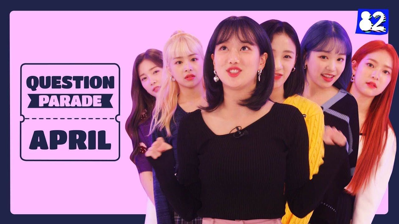 K Pop Idols Have Done It Again Innocent Yet Chaotic Ft April Lalal This Or That Questions Kpop Idol Parades
