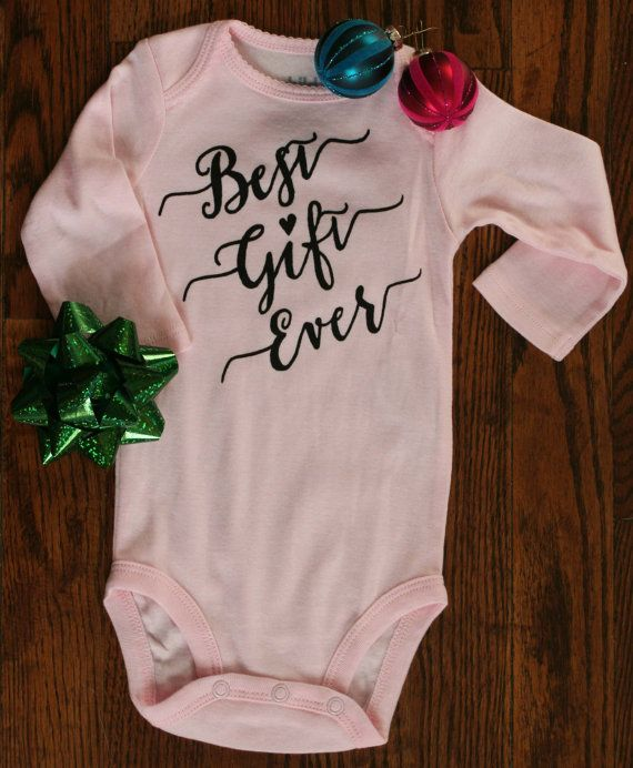 Pink Ready to Ship onesie for baby girl by That's What We Said Shop on Etsy!