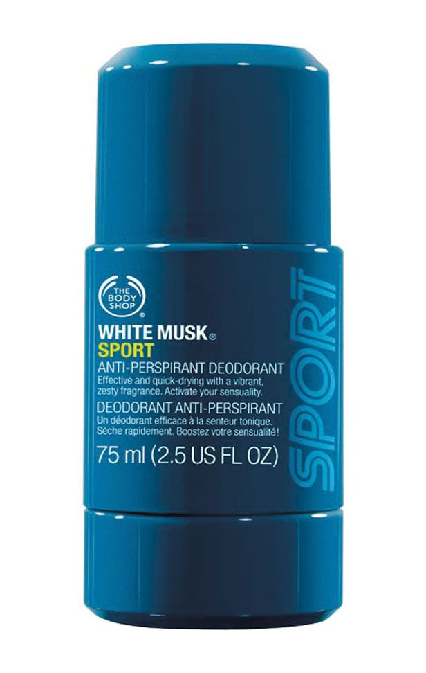 a344927a2 White Musk Men Sport A P Deodorant 75Ml by The Body Shop. Men deodorant to  keep…