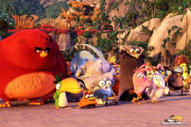 Angry Birds Movie Characters: Angry Birds The Movie Characters 3