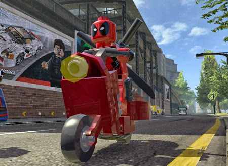 LEGO Marvel Super Heroes Deadpool Scooter | Lego marvel super heroes ...
