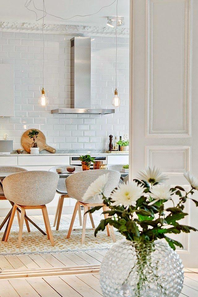 Interior Kitchen Pinterest Maison suédoise et Suédois