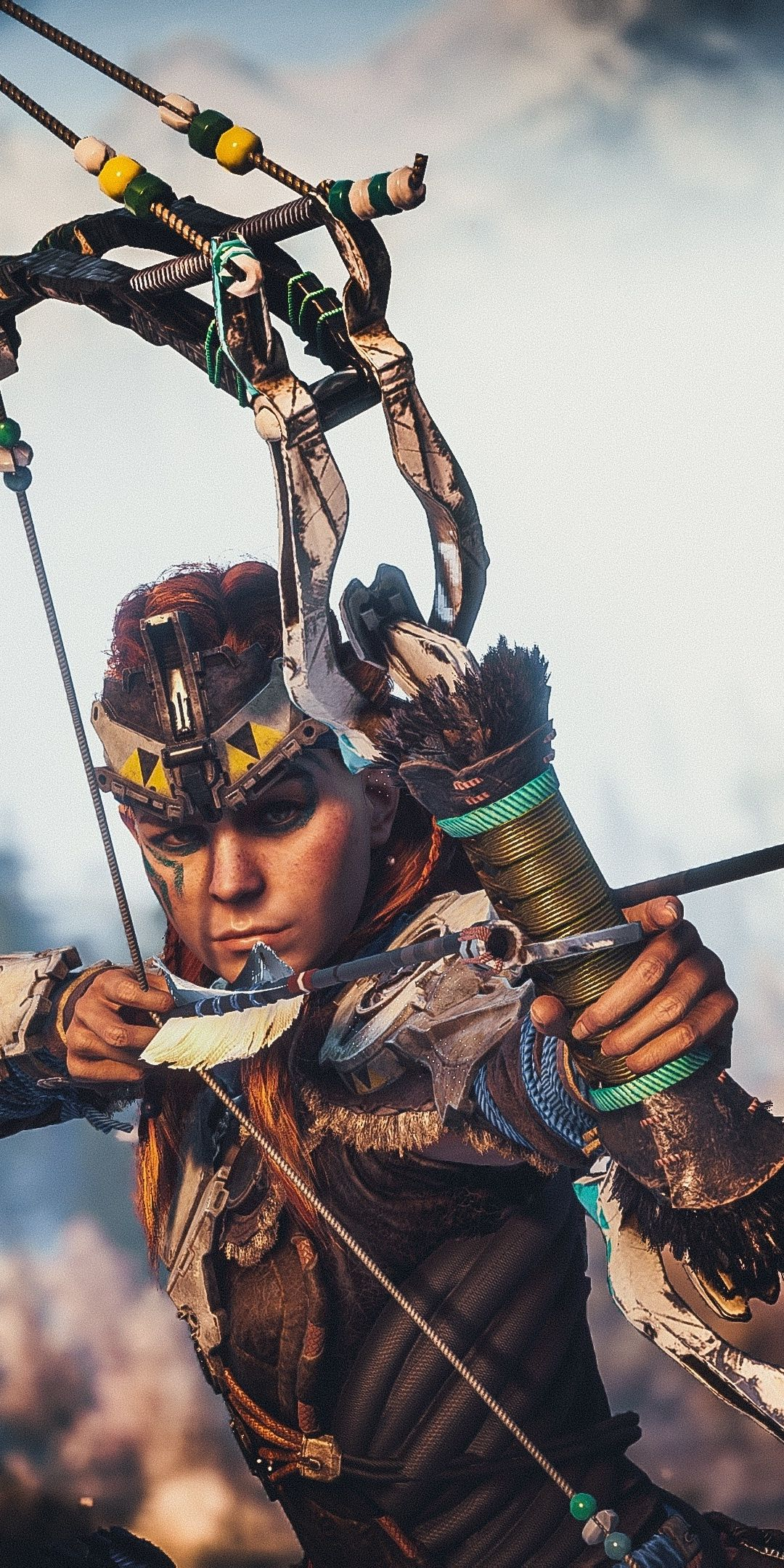 Archer, Horizon Zero Dawn, video game, 1080x2160 wallpaper