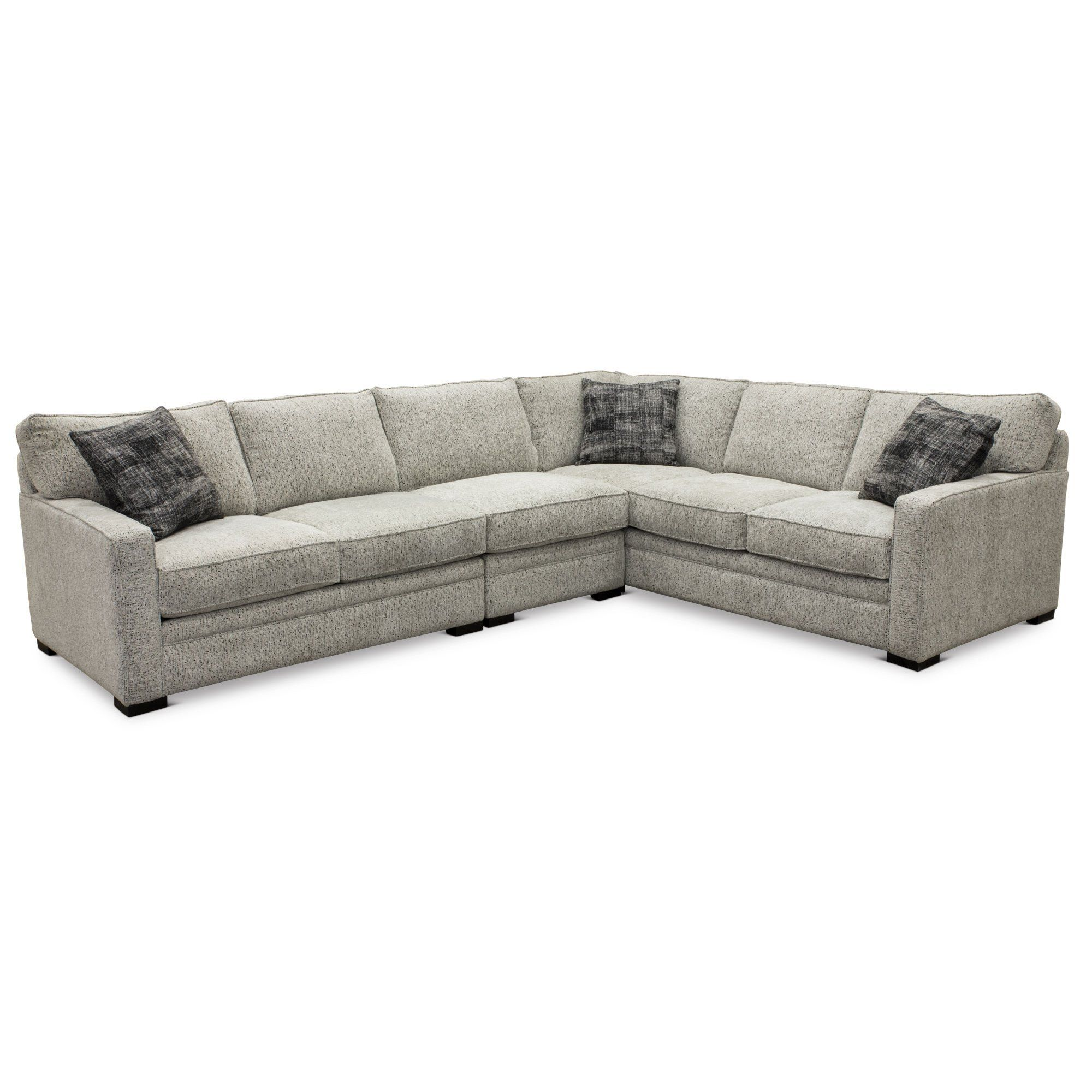 Terrific Contemporary Gray 3 Piece Sectional Sofa With Raf Sofa Andrewgaddart Wooden Chair Designs For Living Room Andrewgaddartcom